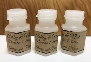 120 RUSTIC THEMED BUBBLE LABELS/STICKERS for WEDDING or party FAVOR BOXES
