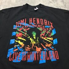 80s 90s VTG JIMI HENDRIX LIVE AT WINTERLAND XL Psychedelic T Shirt Made USA Tour