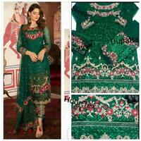 Designer Salwar Kameez Pakistani Suit Indian Bollywood Dress Anarkali Shalwar KB