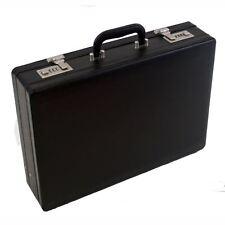 Uomini professionali in pelle esecutivo Nero valigetta con serratura a combinazione 2 Xpack
