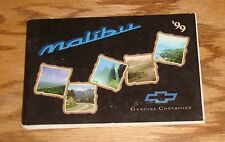 Original 1999 Chevrolet Malibu Owners Operators Manual First Edition 99