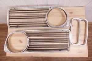 Rare then-time BMW 2002 previous term aluminum front grill set E10 02 series