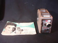 Old Vtg Kodak Brownie 8MM Movie Camera II Photography With Paperwork