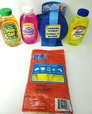 {5 Pack} - Variety Cleaner Original Scent Cleaners, Gloves & Scrub pads