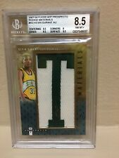 2007 - 2008 Kevin Durant fleer hot prospects rookie auto ( bgs ) 8.5 - 10 auto