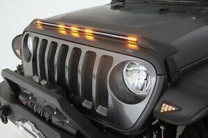 Aeroskin Light Shield Hood Protector AVS for Jeep Gladiator Jeep Wrangler JL