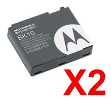Lot Of 2 Oem Motorola Bk10 Bk-10 Extended Battery For I465 Ic502 i680 V750 ic402
