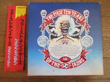 IRON MAIDEN The First Ten Years JAPAN 10 CD BOX SET w/ OBI Booklet TOCP-6181-90
