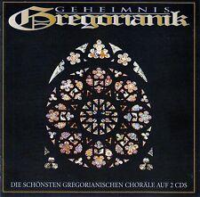 GEHEIMNIS GREGORIANIK - DIE SCHÖNSTEN GREGORIANISCHEN CHORÄLE / 2 CD-SET