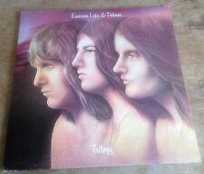 EMERSON LAKE & PALMER trilogy 1972 UK PINK RIM ISLAND STEREO VINYL + BLUE INNER