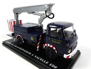 Renault Saviem SG4 R35 Elévateur Nacelle EDF 1/43 Camion Voiture Miniature UTR33