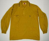 Vintage 50s Grand Slam Munsingwear Penguin Shirt Sz S/M Long Sleeve Fine Knit