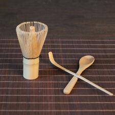 3pcs Matcha Powder Bamboo Chasen Whisk Teascoop Spoon Tea Ceremony Supplies