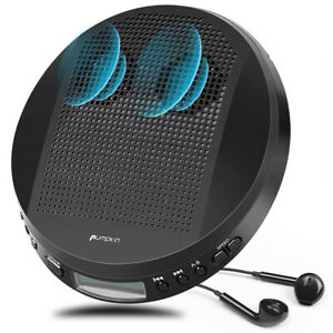 Walkman Personal Portable CD Player with Stereo Speakers MP3/CD-R/CD-RW+Headsets