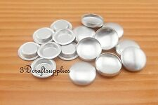 200 sets of cover buttons 3/4 inch (18mm) Size 30 Self cover buttons Flat back