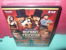 michael crichton - 4 peliculas - 2 dvds -