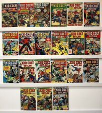 Kid Colt   Lot of 21 comics  VG or many much better   See issue #'s below