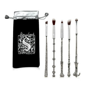 5pcs Harry Potter Makeup Brushes Wizard Magic Wand Cosmetic Brush Xmas Gift Set