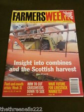 FARMERS WEEKLY - COMBINES & SCOTTISH HARVEST - SEPT 21 2001