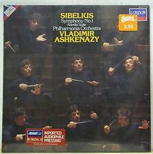 Ashkenazy SIBELIUS Symphony No.1, Karelia Suite - London 414 534-1 SEALED