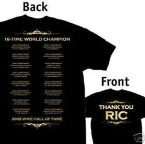 WWE Ric Flair Thank You T-Shirt Medium,Large Official New