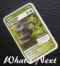 Woolworths<AUSSIE ANIMALS><Series 2 Baby Wildlife>CARD 10/36 Diamond Python