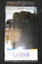 Cellink DLC5338 Leather Case Wallet Style with removable Swirl Clip