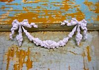 SHABBY & CHIC ROSE SWAG * FURNITURE APPLIQUES / ONLAYS  @ FREE SHIPPING