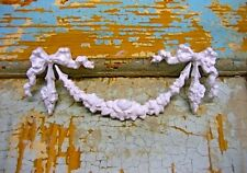 SHABBY & CHIC FURNITURE APPLIQUES BOWS ROSES SWAGS  EBAY'S # 1 DEALER
