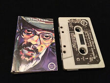 REGGAE GREATS LINTON KWESI JOHNSON UK CASSETTE TAPE