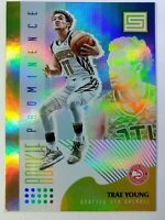 2018 Panini Status Rookie Prominence Trae Young Rookie RC #5, Atlanta Hawks