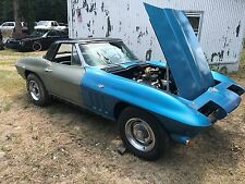 1965 Chevrolet Corvette 1965 Corvette Convertible C2 project