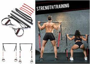 Pilates Schläger Anzug Widerstandsband Fitness Training Muskel Power Tension BAR