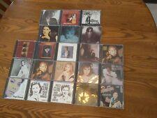 LOT 21 Women CD Patsy Cline Barbra Streisand Anna Murray Dionne Warwick