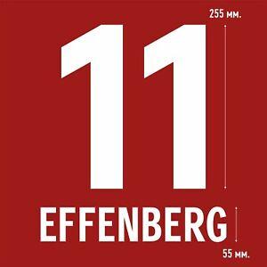 Effenberg 11. Bayern Munich Home football shirt 2001 - 2002 FLOCK NAMESET