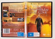 What Dreams May Come (Region 4 DVD, 2000) Robin Williams, Cuba Gooding Jr. 🏡