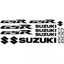 Compatible ADHESIVO PEGATINA - AUFKLEBER ADESIVI -  Suzuki Gsr 600  Réf-MOTO-142