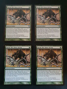 4x Might of Old Krosa - German - FBB - EDH - Vintage - MTG #1675