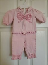 Carter's Infant Girl 2-Piece Pink Jacket W/Pants W/Ruffles Size O-3Mos.