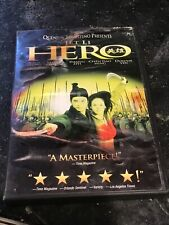 Hero Jet Li Dvd -Pg– 13 -2002 Best Foreign Film-Fast Free shipping