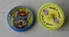 Set of 2 Chuck E Cheese Pizza Parlor Puzzle Game and Spinner Top Premium Toys