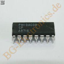 1 x DAC08CP 8-Bit, High-Speed, Multiplying D/A Converter (Uni PMI DIP-16 1pcs
