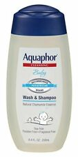 Aquaphor Baby Cleansing Wash and Shampoo 8.4 oz (8 Pack)