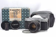 @ Ship in 24 Hrs! @ Original Box Set! @ Canon Canonflex RP 35mm SLR Film Camera