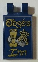 LEGO Pirates Wine Goblets, Grapes and 'José's Inn' Pattern 30350bpb107 21322 NEW