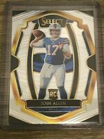 Josh Allen 2018 Panini Select Buffalo Bills Rookie Card #139