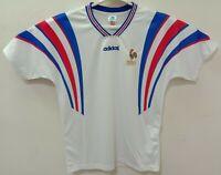 1996 France retro vintage classic soccer football team away t-shirt jersey tw