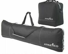 Athletico Ski & Boot Bag Combo Set NWT Rugged Canvas W/ Shoulder Strap