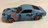 2015 Hot Wheels Camouflage '67 Ford Mustang Shelby GT-500 Blue  Loose