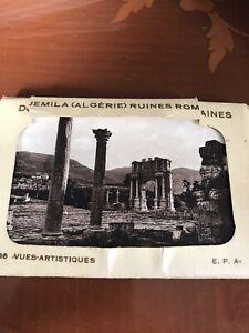 Djemila ( Algerie ) Ruines Romaines Folder & 16 Postcards  Vintage